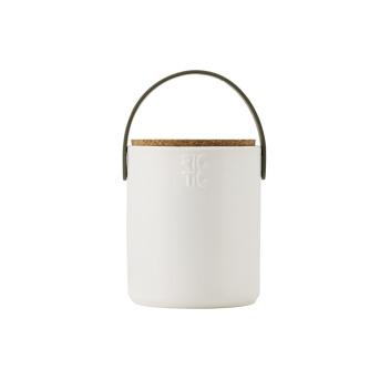 Pojemnik z ceramiki Hide-It H14 cm Biały