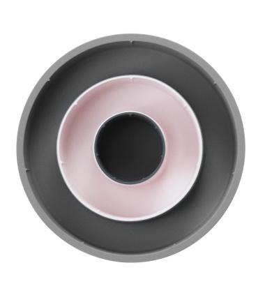 Silikonowa forma do pieczenia Set of 3 Szaro-Różowa