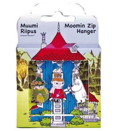 Przywieszki do zamka Muminki Zipper Charms Set 3