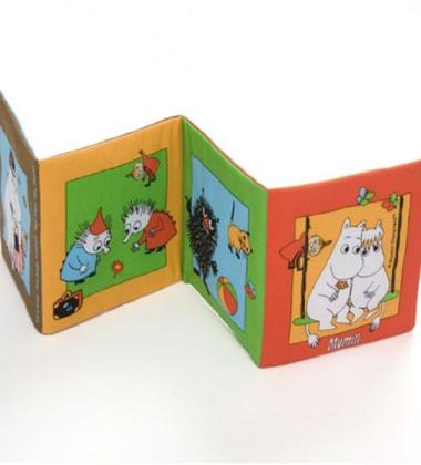 Materiałowa Książeczka Sensoryczna dla Dzieci Muminki