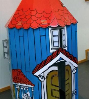 Duży składany Domek DIY 135 cm Moominhouse