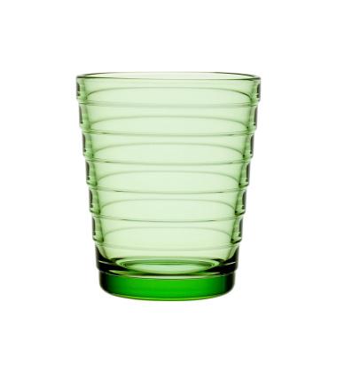 Szklanki Aino Aalto 220 ml Set of 2 Zielone Jabłko