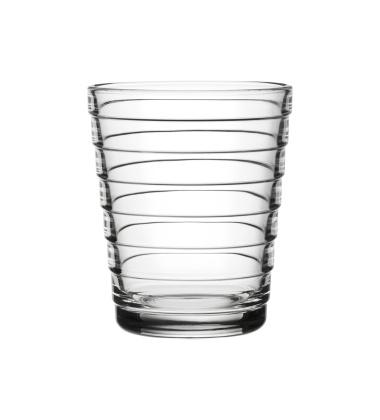 Szklanki Aino Aalto 220 ml Set of 2 Przezroczyste