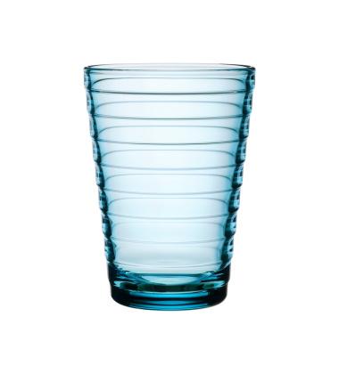 Szklanki Aino Aalto 330 ml Set of 2 Jasny Niebieski