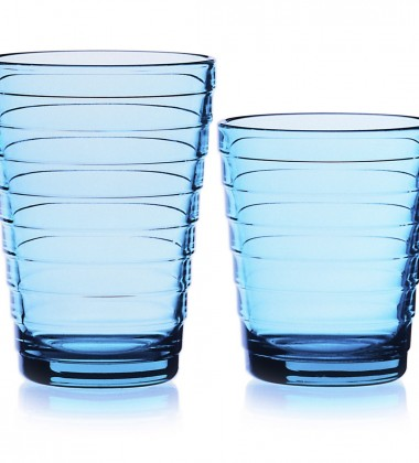 Szklanki Aino Aalto 330 ml Set of 2 Turkusowy