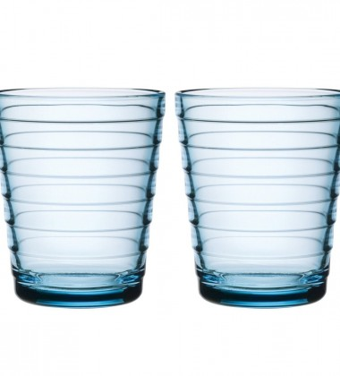 Szklanki Aino Aalto 220 ml Set of 2 Turkusowy
