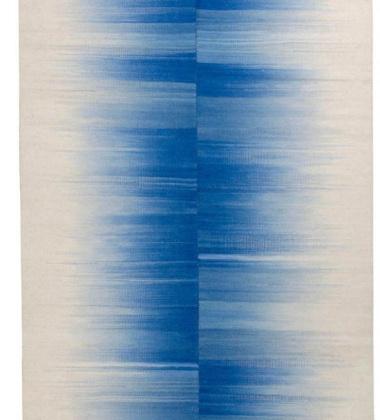 Dywan-Kilim Kimono 160x220 Niebiesko-Biały