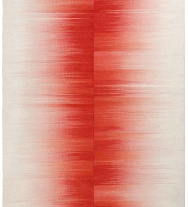 Dywan-Kilim Kimono 160x220 Czerwono-Biały