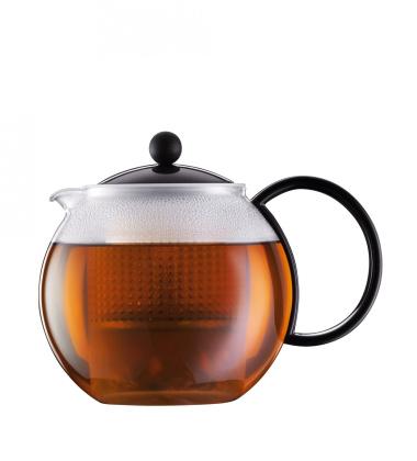 Bodum Assam Zaparzacz-Dzbanek do herbaty 1L Czarny