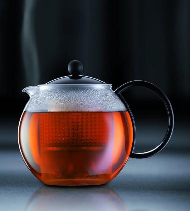 Bodum Assam Zaparzacz-Dzbanek do herbaty 1,5 L Czarny
