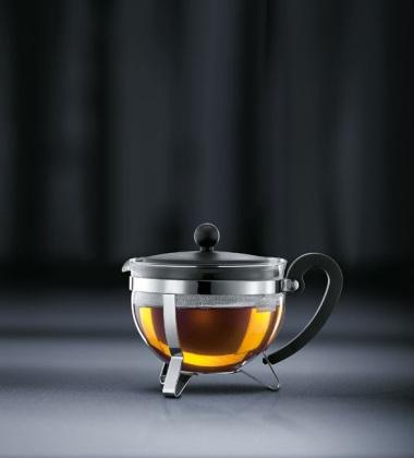 Bodum Chambord Earl Grey Zaparzacz-Dzbanek do herbaty 1L Czarny