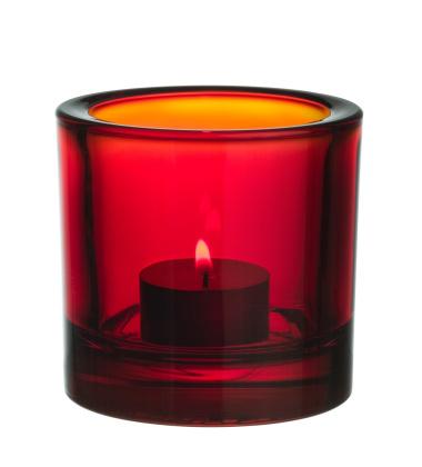 Świecznik Kivi Votive 80 mm Czerwony