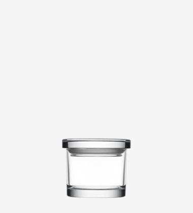 Szklany słoik Jars Jar 80 mm Przezroczysty