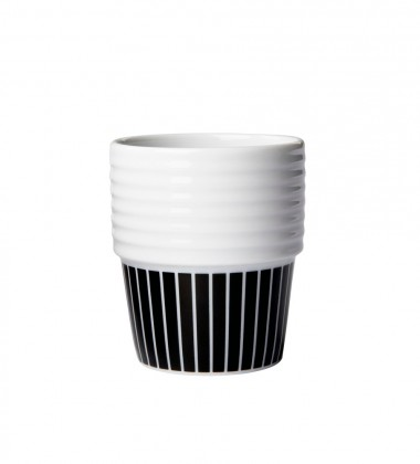 Kubki Espresso Filippa K 140 ml Set 2 Pinstripes