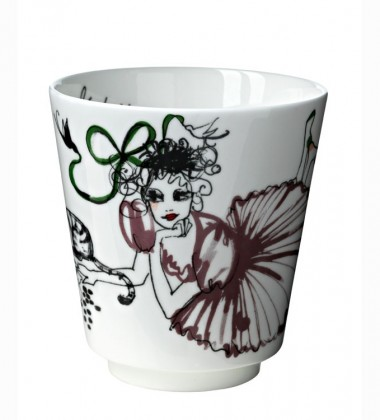 Mug Mademoiselle Oiseau Backgammon 370 ml