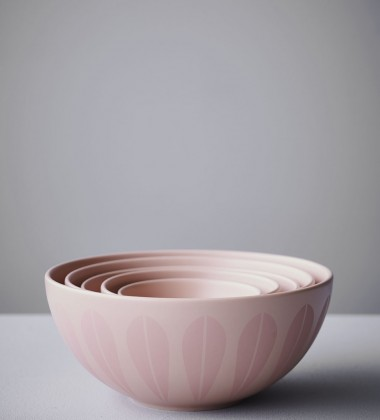 Misa z porcelany Lotus 24 cm Nude Mat