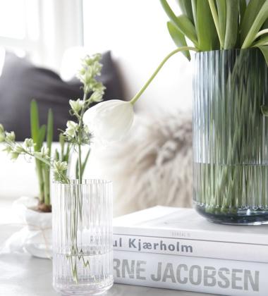 Wazon szklany Lyngby 15 cm Przezroczysty