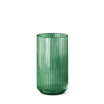Wazon szklany Lyngby 25 cm Zielony