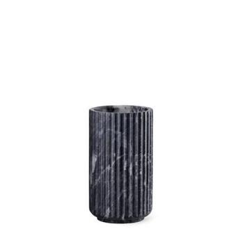 Wazon Lyngby Anniversary 20 cm Czarny Marmur