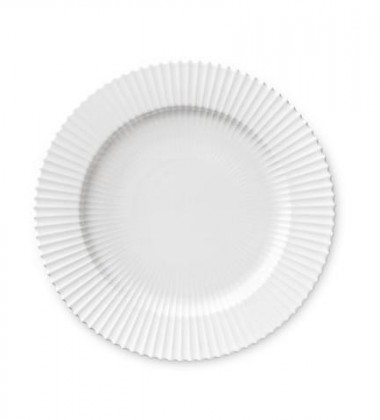 Talerz Lyngby 27 cm Biały