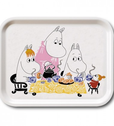 Teaparty Tray 27x20 cm White