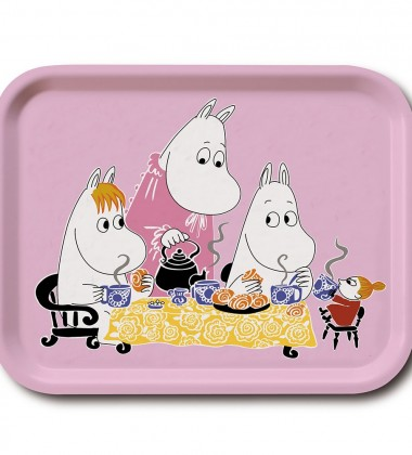 Teaparty Tray 27x20 cm Pink