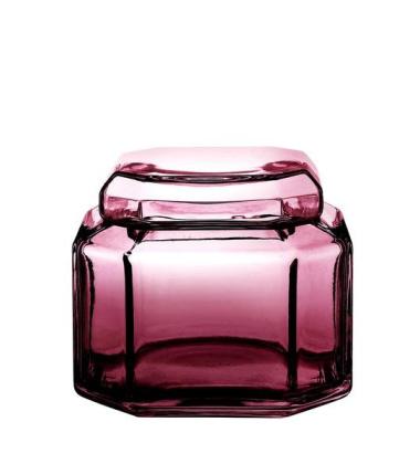Szklany pojemnik Brilliant Bon Bonniere PEARL H11 cm Amethyst
