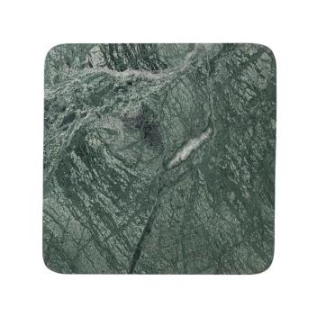 Talerz z marmuru GEORGE 36x36 Zielony Marmur