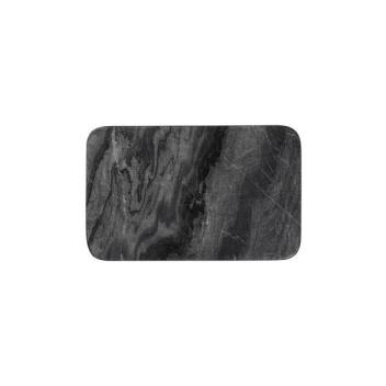 Talerz z marmuru BENN 15x24 Czarny Marmur
