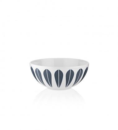 Miseczka z porcelany Lotus 12 cm Biało-Granatowa