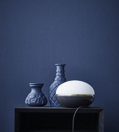 Lampa stołowa Macaroon 18 cm Grafitowa
