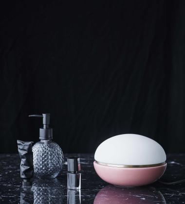 Lampa stołowa Macaroon 18 cm Różowa