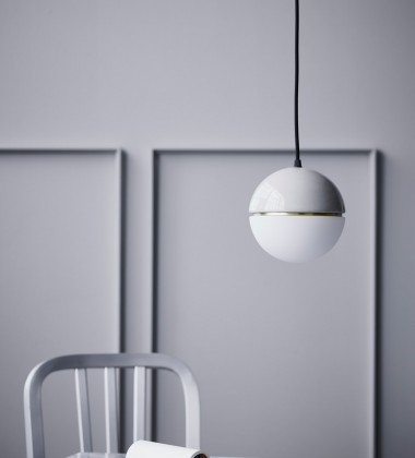 Macaroon Pendant Lamp 16 cm Light Grey