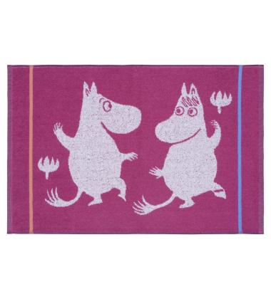Ręcznik Muminki Magic 50x70 Fuksja