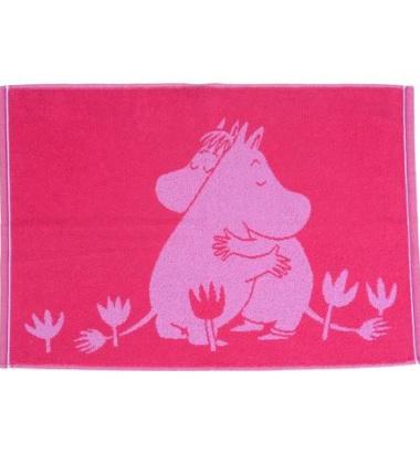 Ręcznik Muminki Love 50x70 Różowy