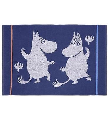 Ręcznik Muminki Magic 50x70 Granatowy