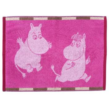 Ręcznik Muminki Ruut 50x70 Różowy