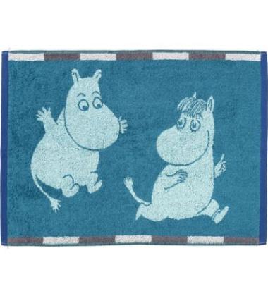 Ręcznik Muminki Ruut 50x70 Morski