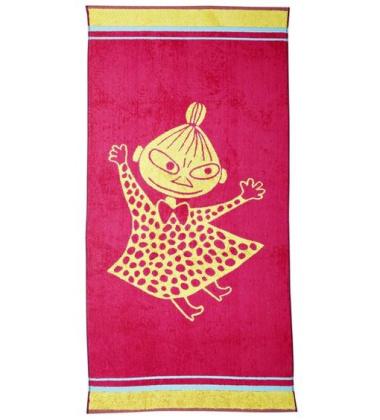 Ręcznik do rąk Muminki Mała Mi 30x50 Malinowa