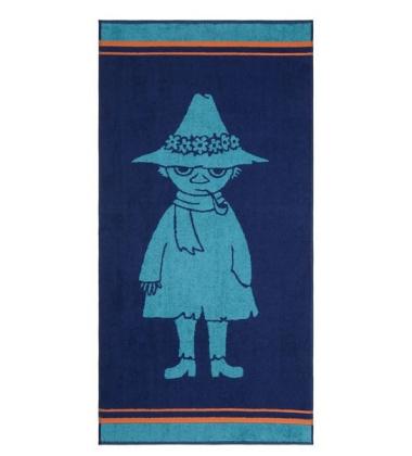 Ręcznik do rąk Muminki Włóczykij 30x50 Granatowy