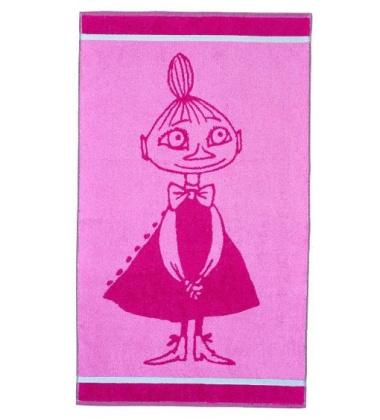 Ręcznik do rąk Muminki Mała Mi 30x50 Różowa