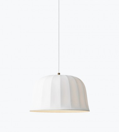 Juliet Pendant Lamp 25 cm Bone China White