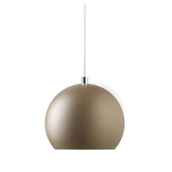 Lampa wisząca Ball 18 cm Brązowa Matowa