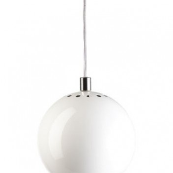 Lampa wisząca Ball 18 cm Biała
