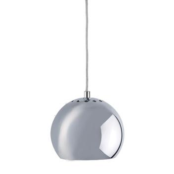 Lampa wisząca Ball 18 cm Chromowana