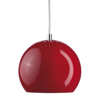 Lampa wisząca Ball 18 cm Czerwona