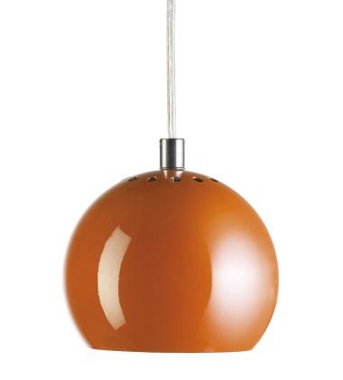 Lampa wisząca Ball 18 cm Pomarańczowa