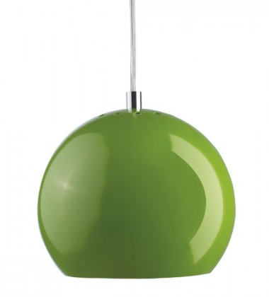 Ball Pendant Lamp 18 cm Green