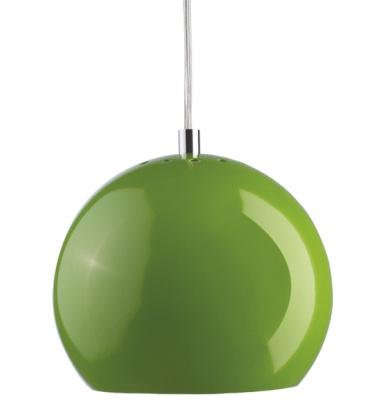 Lampa wisząca Ball 18 cm Zielona