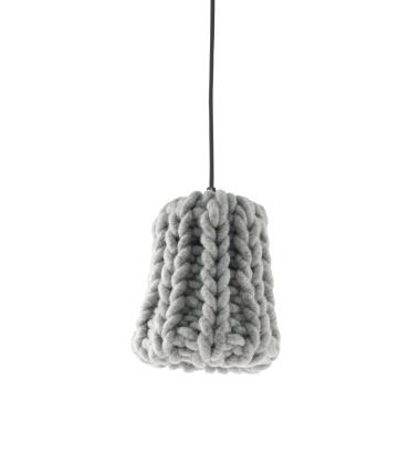 Lampa wisząca Granny 18 cm Szara